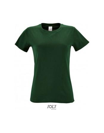 Maturitní tričko dámské Bottle green