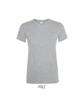 Maturitní tričko dámské Tmavě šedý melír