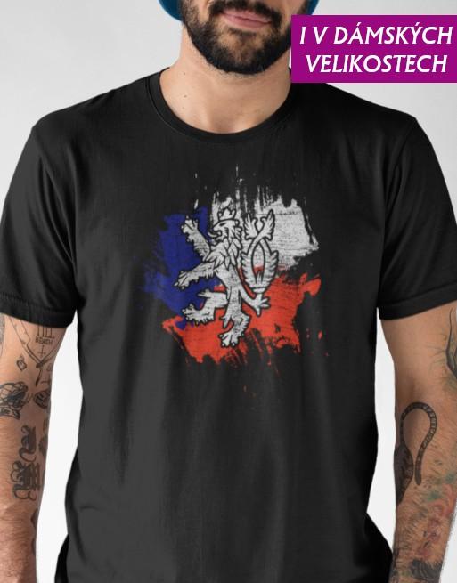 tričko český lev