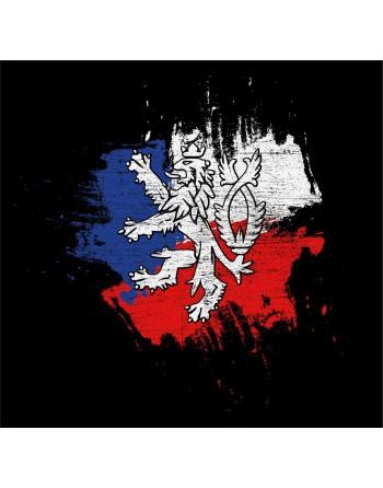 Vlastenecké tričko s potiskem Český lev, TRIČKO ČESKÝ LEV,