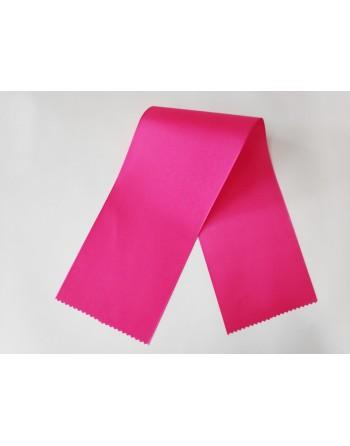 Sytě růžové taftové šerpy 633