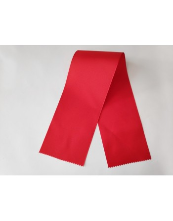Červené taftové šerpy 643