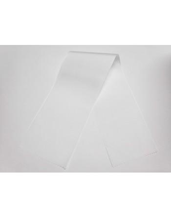 Bílá taftové šerpy 100