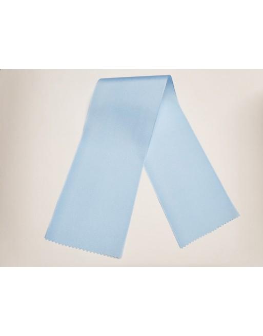 Světle modré taftové šerpy 401