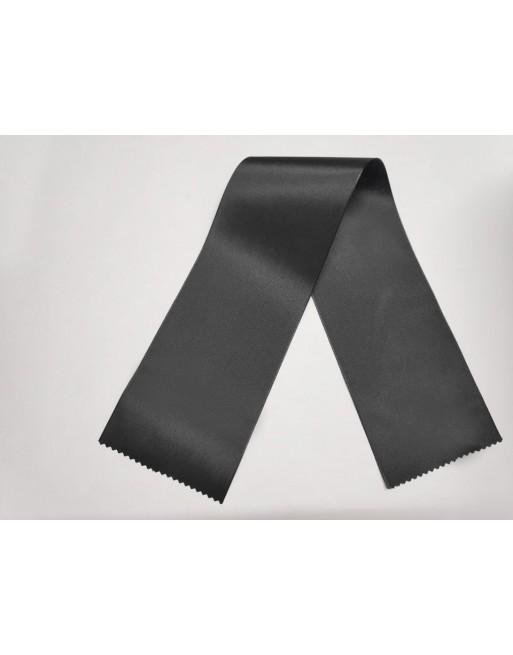 Černé taftové šerpy 100