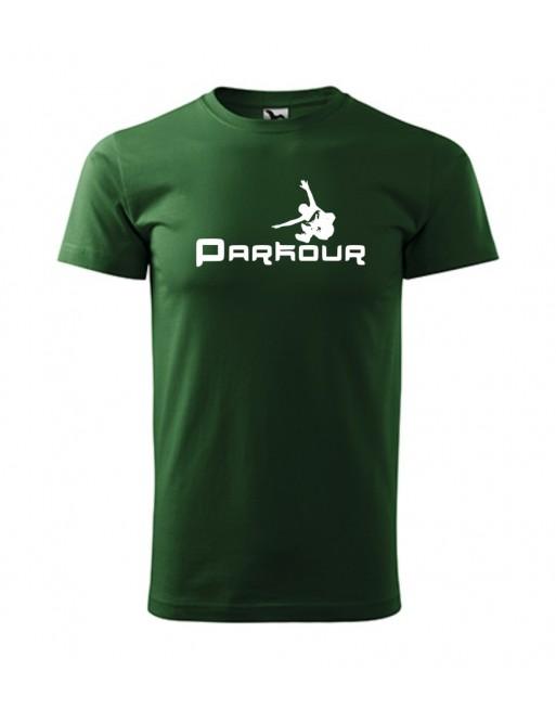 Tričko s potiskem  Parkour