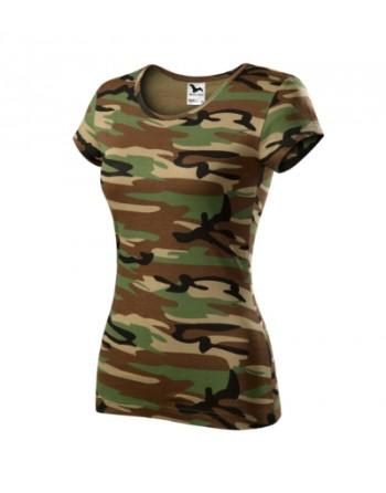 Maturitní tričko dámské maskáčové, školní trička