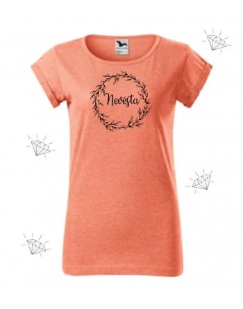 tričko nevěsta, tričko s potiskem nevěsta
