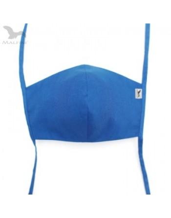 Rouška modrá tvarovaná