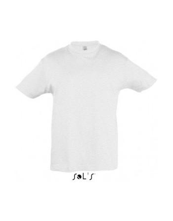 Dětská trička s potiskem pro mateřské školy světle šedý melír
