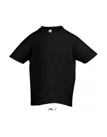 Dětská trička s potiskem pro mateřské školy černé