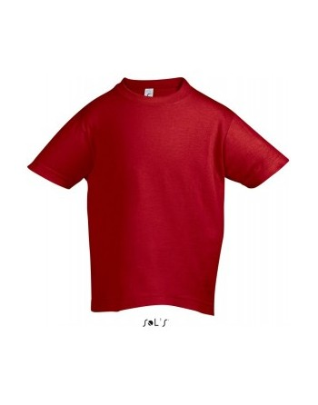Dětská trička s potiskem pro mateřské školy červené