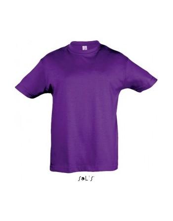 Dětská trička s potiskem pro mateřské školy Daří purple
