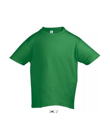 Dětská trička s potiskem pro mateřské školy Kelly green