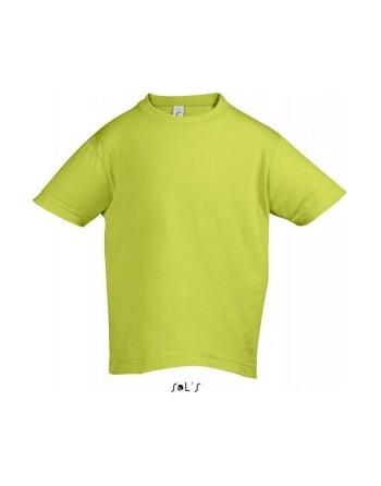 Dětská trička s potiskem pro mateřské školy Limetková