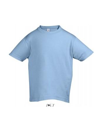 Dětská trička s potiskem pro mateřské školy Sky blue