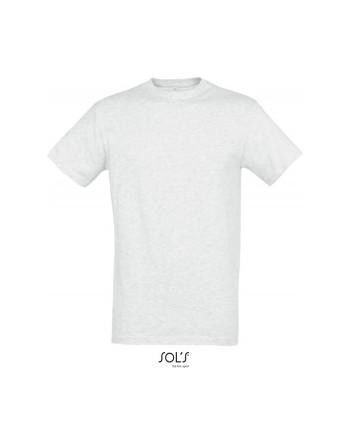Absolventské tričko, školní tričko  pánské Světle šedý melír