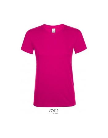 Absolventské tričko dámské fuchsia