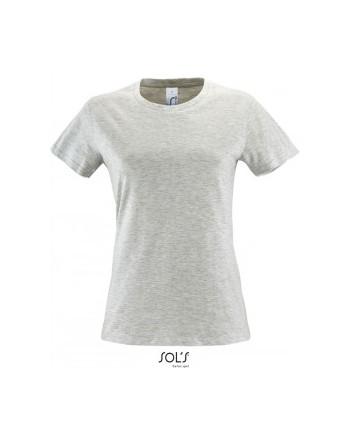 Absolventské tričko dámské Světle šedý melír