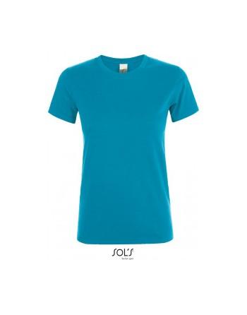 Absolventské tričko dámské Tyrkysová attol blue