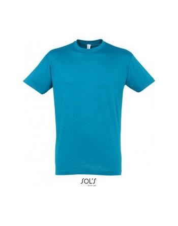 Maturitní tričko pánské Tyrkysová attol blue